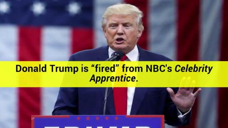 Donald Trump Will Never Return to Celebrity Apprentice