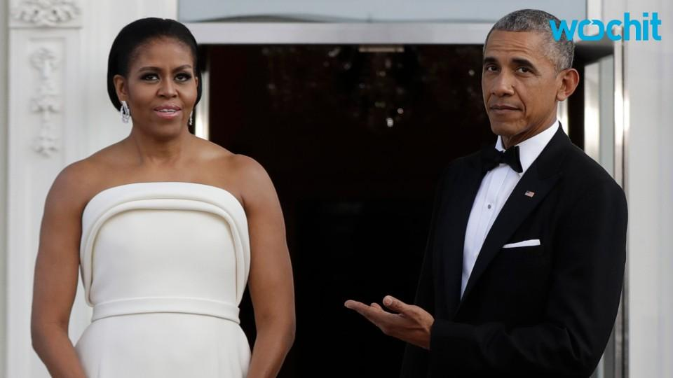 Michelle Obama Looks Stunning In Brandon Maxwell Gown