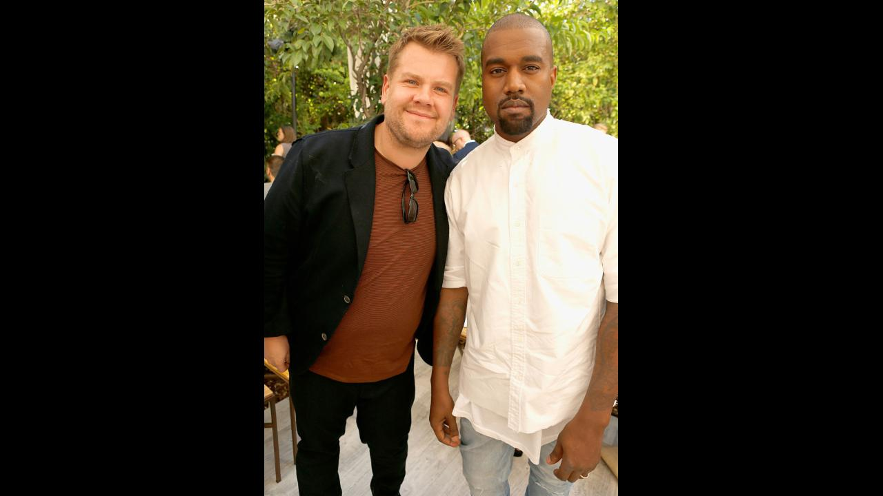 James Corden says Kanye West has canceled on 'Carpool Karaoke'...twice!