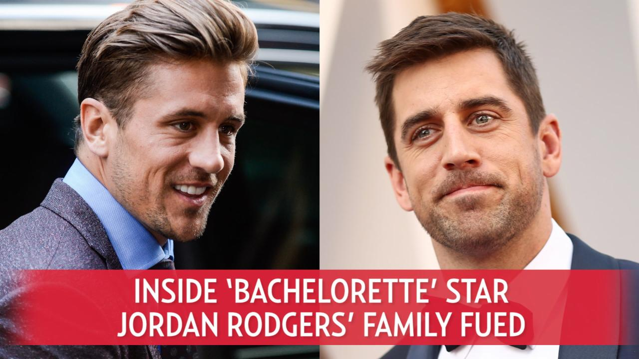 Inside 'Bachelorette' Star Jordan Rodgers' Family Feud
