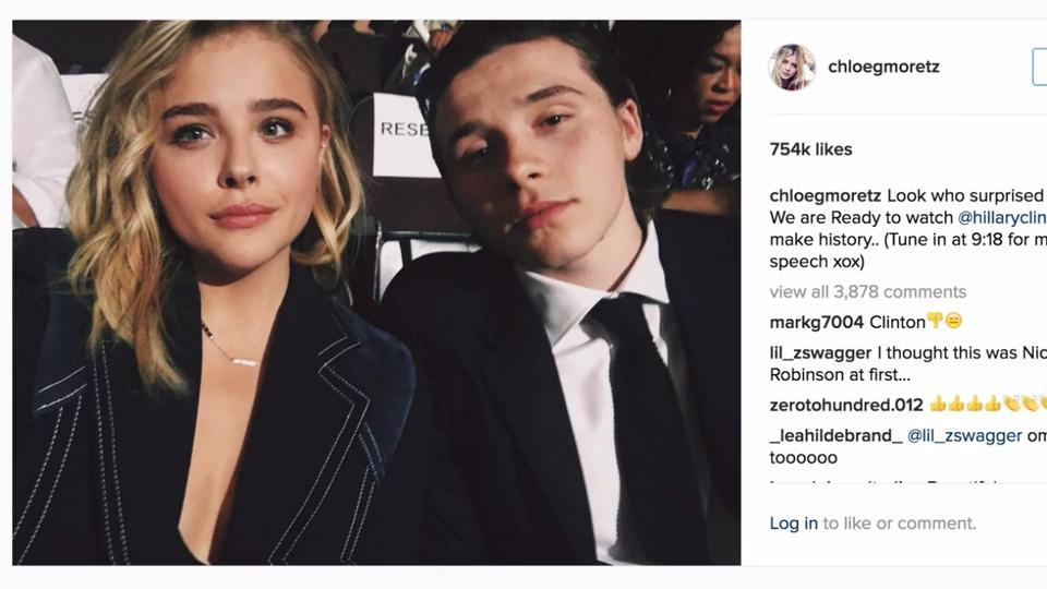 10 of Chloe Grace Moretz and Brooklyn Beckham's Cutest Couple Photos