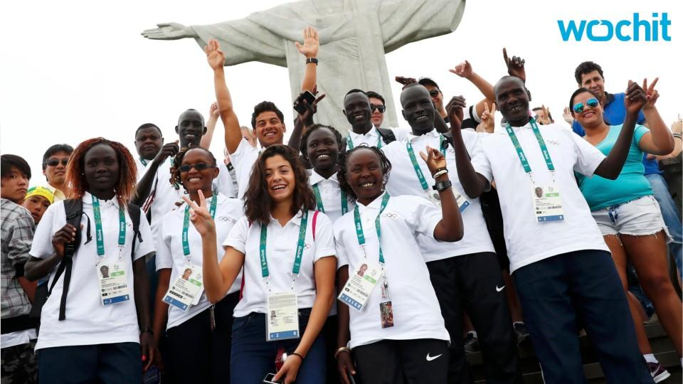 Refugees Take Pride In Rio 2016 Team Refugee