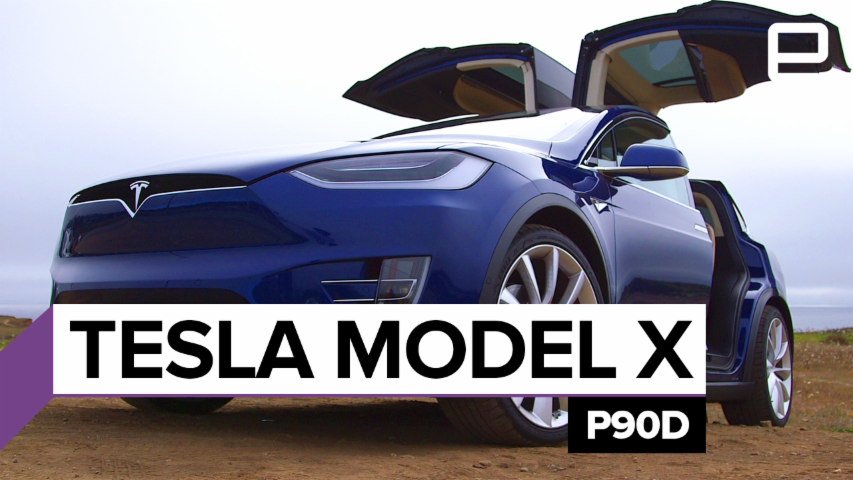 Tesla Model X P90D: Review