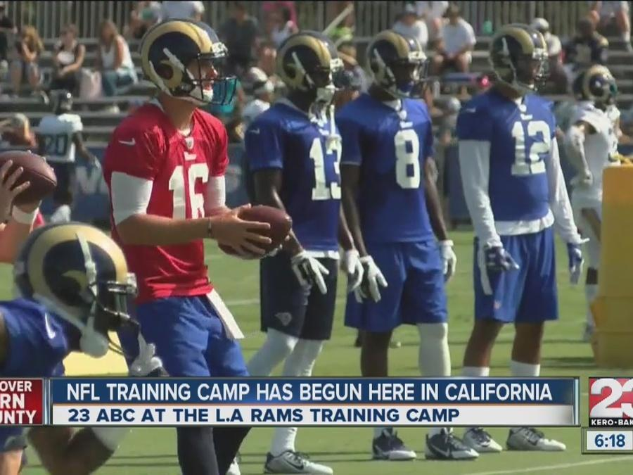 NFL Training Camp Rams