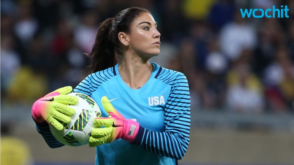 Hope Solo Heckled At Olympics