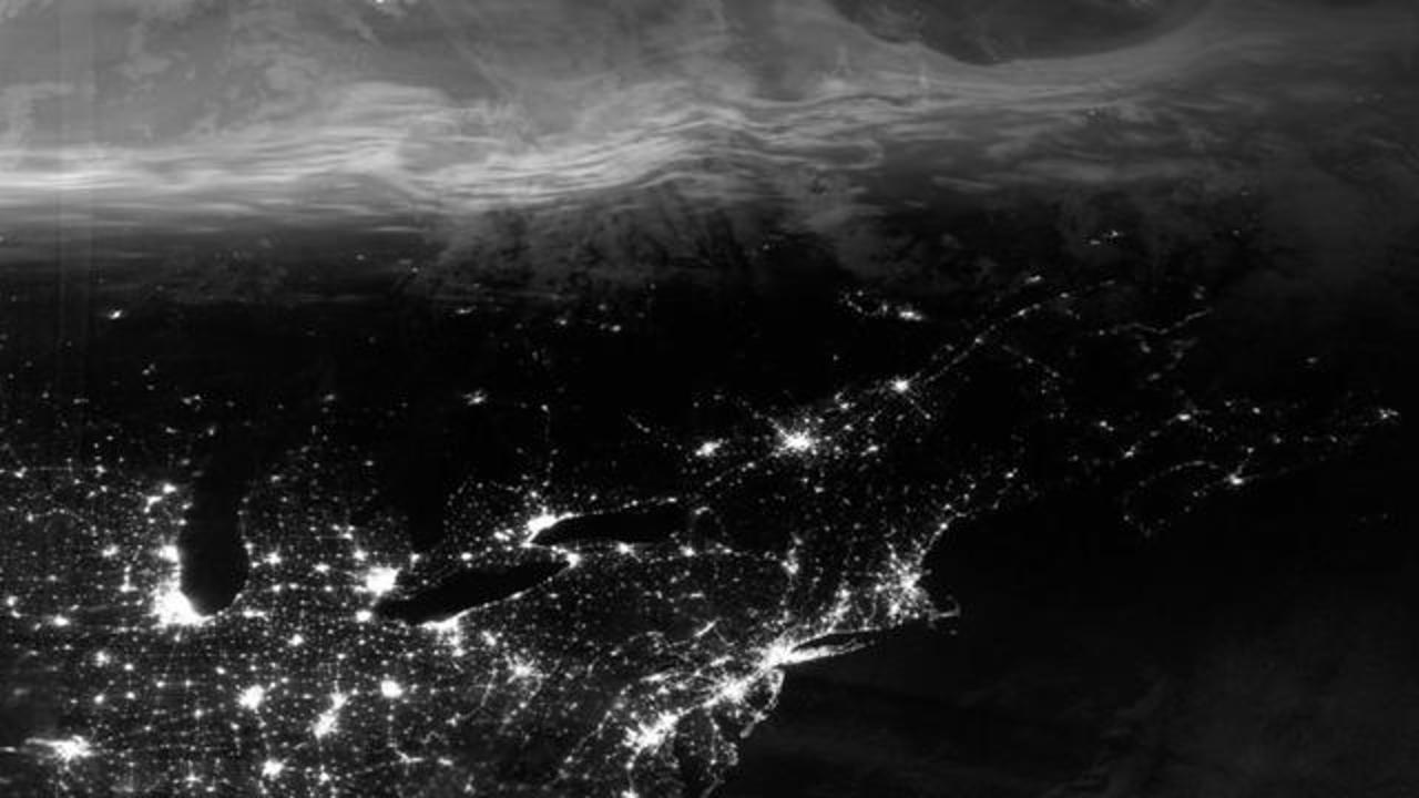 Satellite Spots 'Ghostly' Northern Lights over Parts Of U.S.