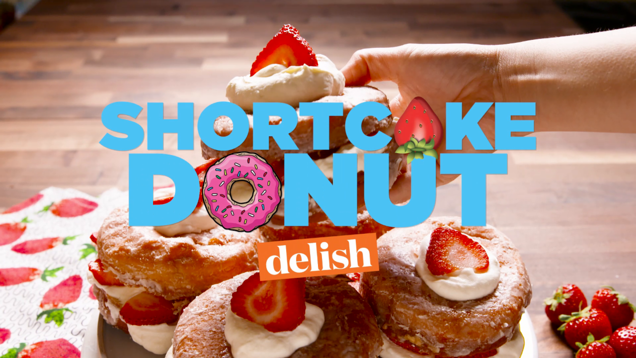 How to Make Shortcake Donuts