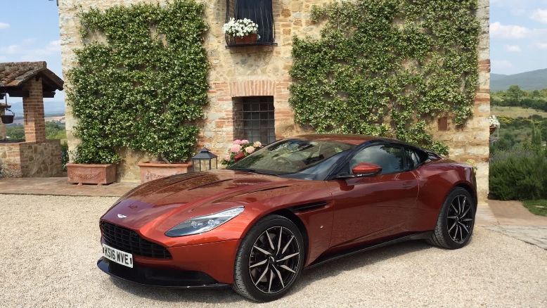 2017 Aston Martin DB11 In Tuscany | Autoblog On Location