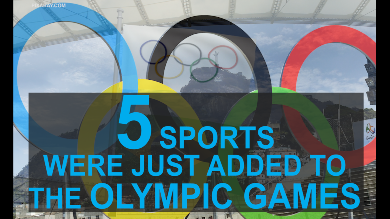 5 new sports added to the Olympic Games