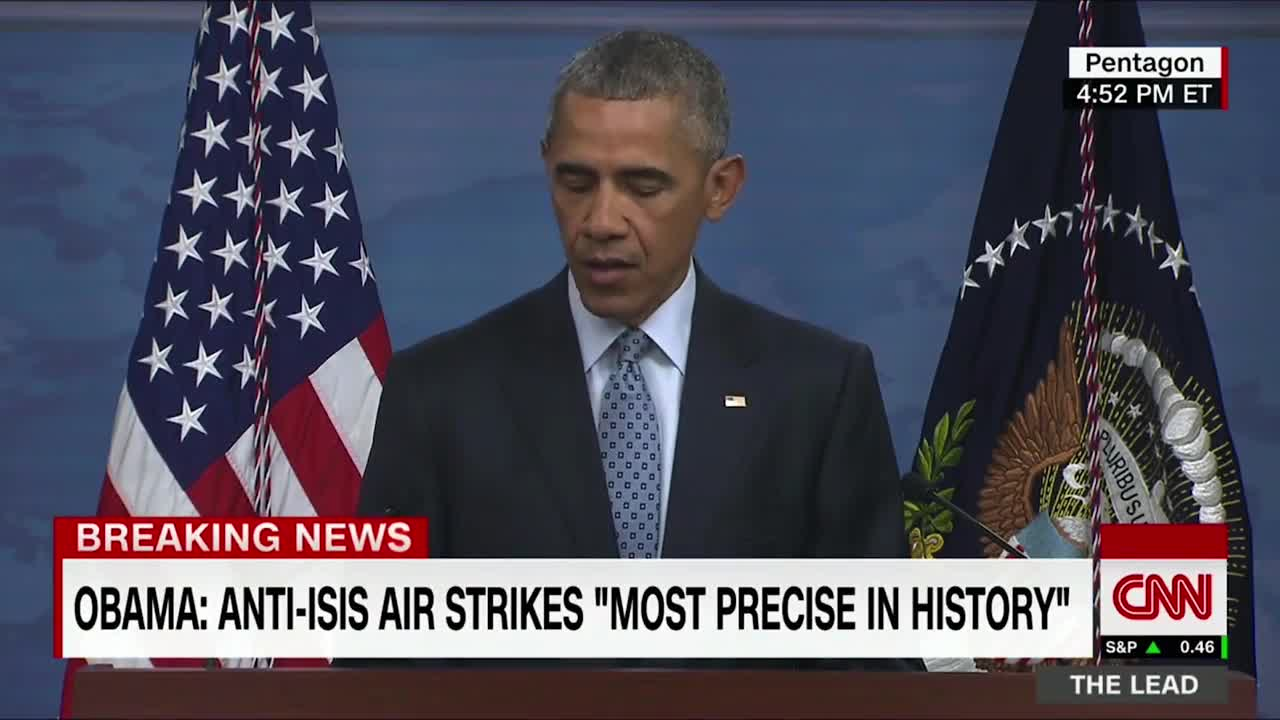 President Obama Update On Fight Against ISIS