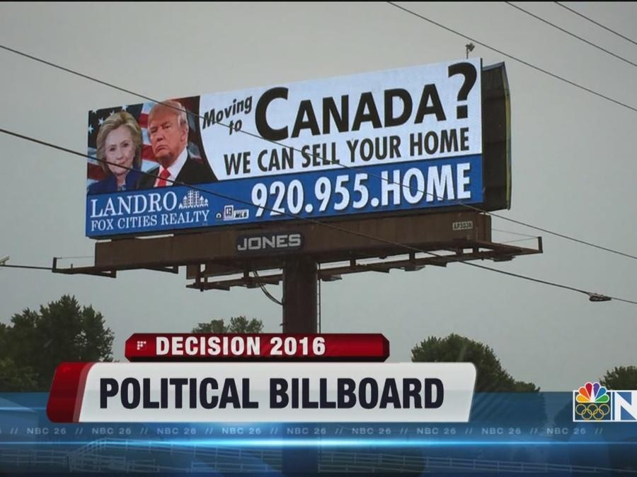 Political Billboard