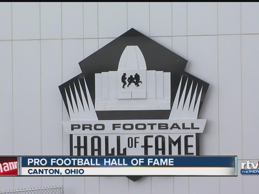 A walk through the Pro Football Hall of Fame