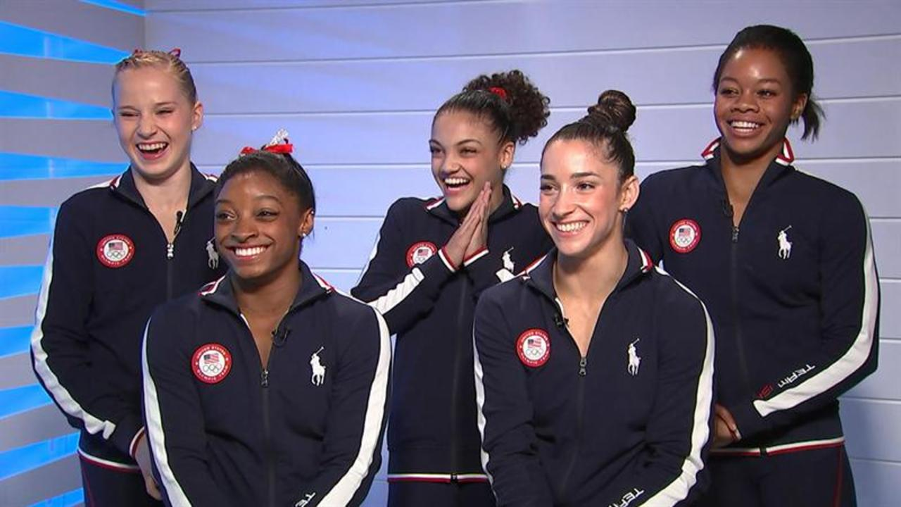 Meet Gabby Douglas, Simone Biles, US women's gymnasts