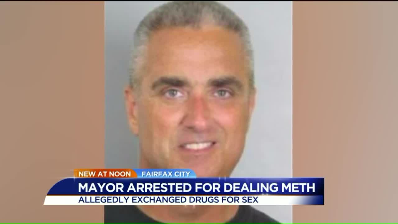 Virginia Mayor Busted For Allegedly Dealing Meth In Sex-For-Drugs Sting