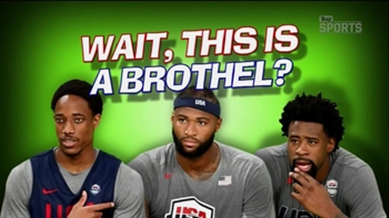 Team USA Basketball visits a brothel in Rio - 'TMZ Sports'