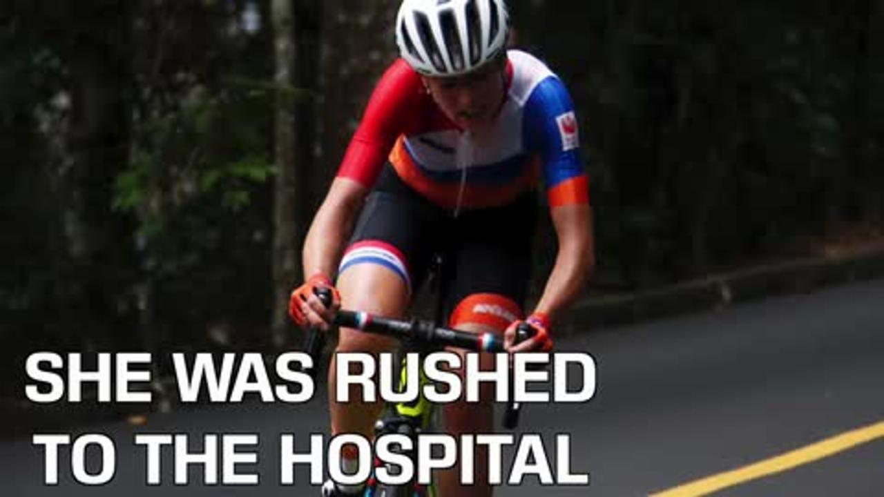 Dutch Cyclist Injured in Crash During Olympic Race