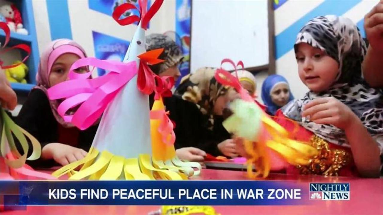 The Safe Haven For Children Amidst Crushing Syrian War Zone