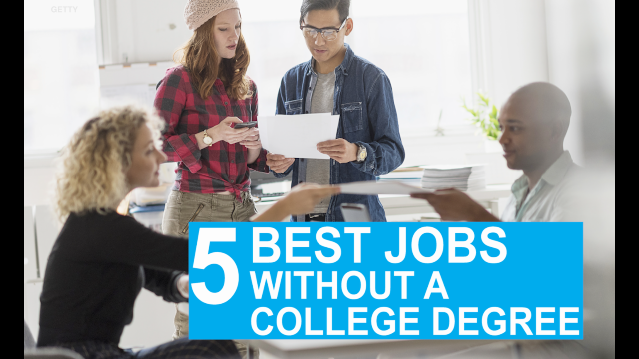 The 6 Best Jobs Without a College Degree