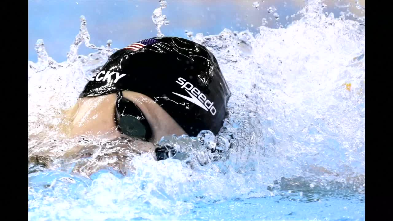 Ledecky Smashes Own Record to Win Women's 400m Freestyle