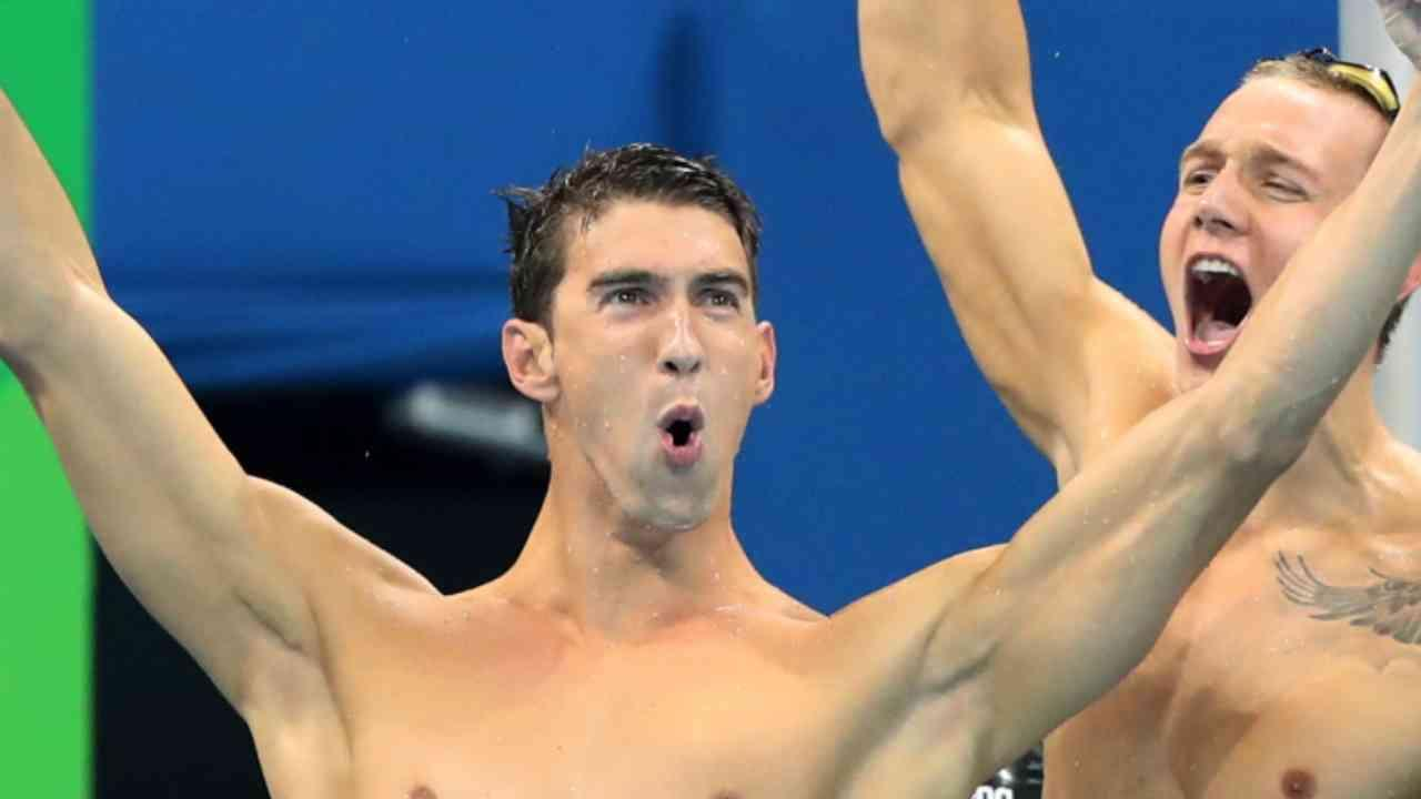 Phelps, Ledecky Dominate in the Pool
