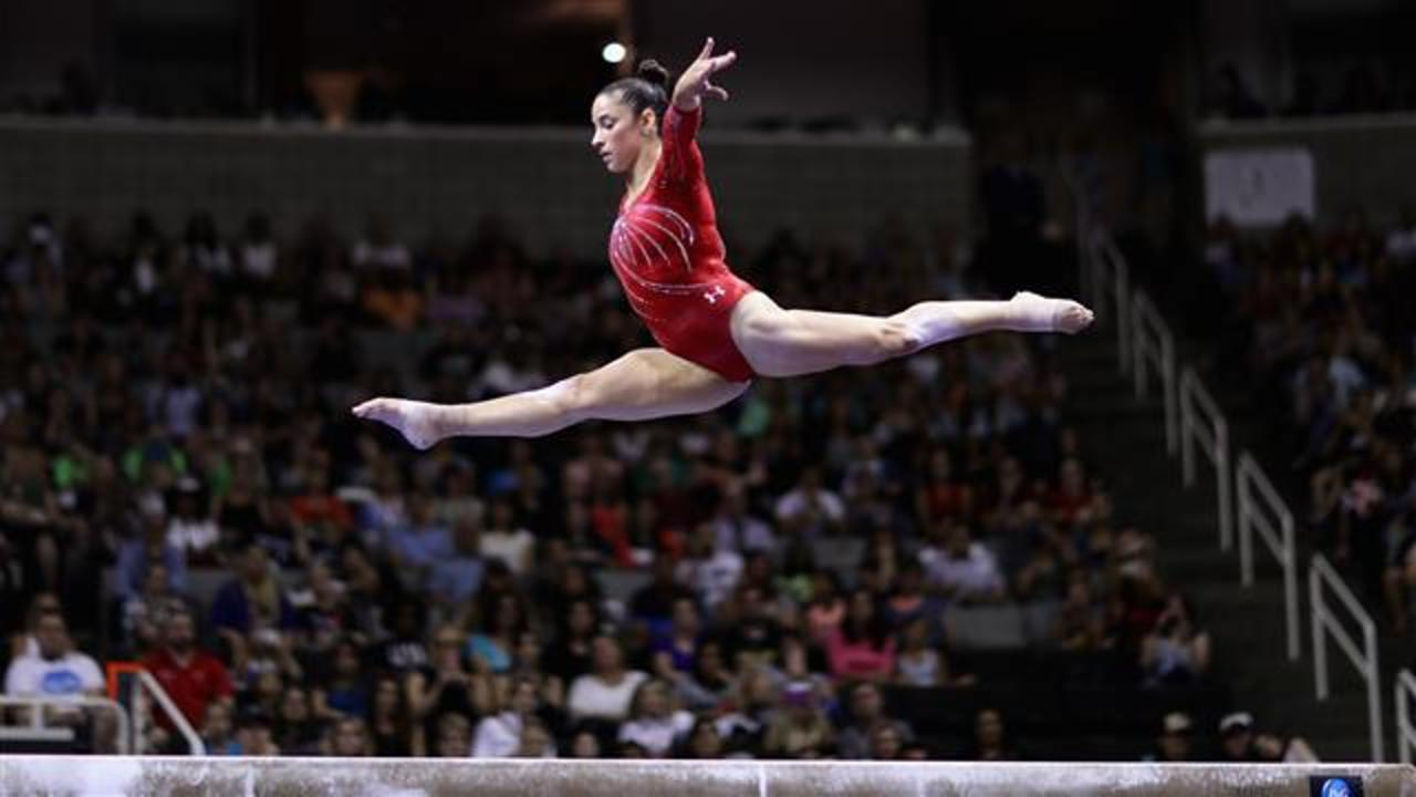 How Aly Raisman Takes on the Balance Beam