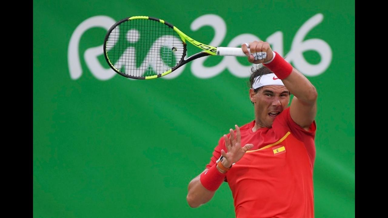 Rafael Nadal's first Olympic Games match since 2008