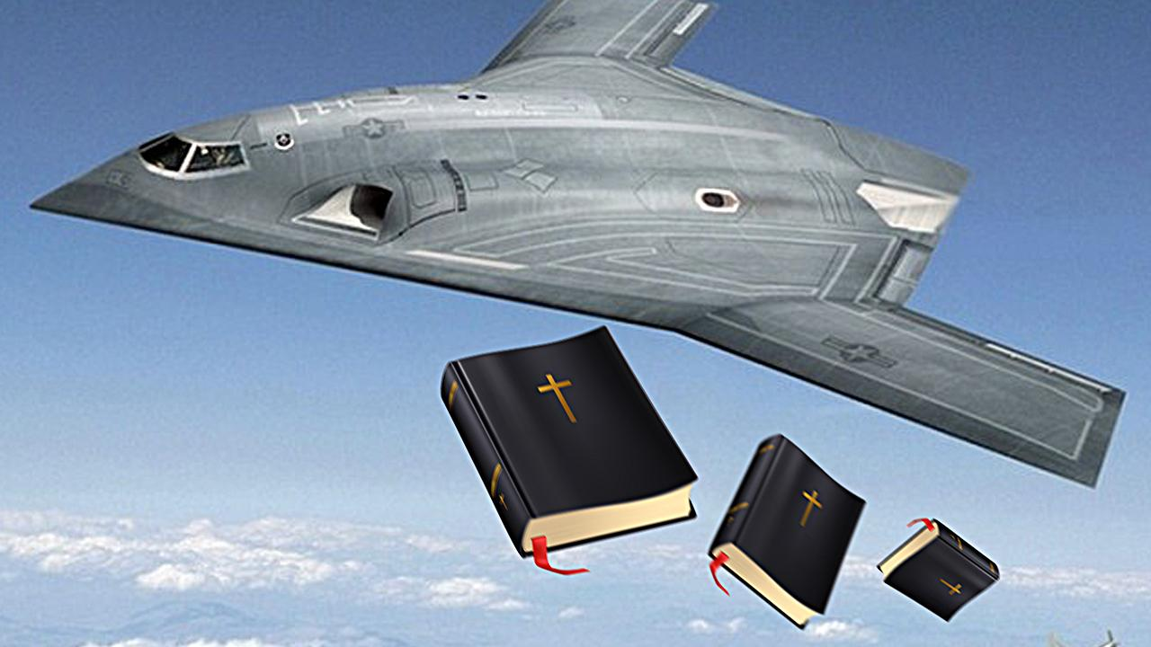 Swedish Church Bombs ISIS With Bibles