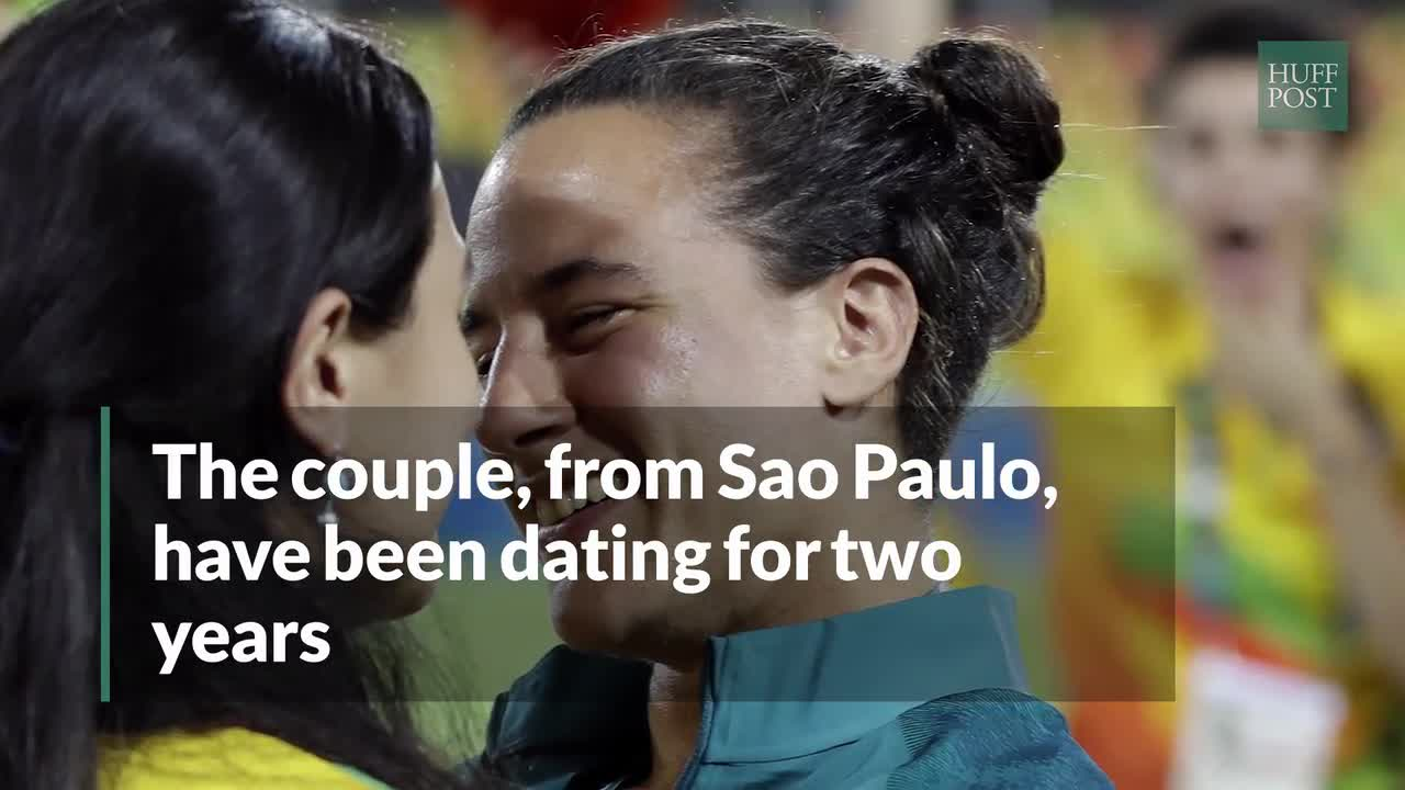 Love Wins At The Rio Olympics After The Cutest Rugby Proposal