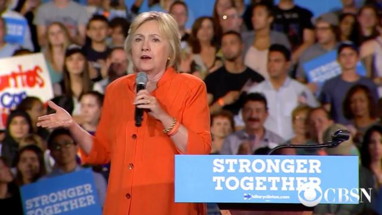 Father Of Orlando Shooter Spotted At Hillary Clinton Rally In Florida