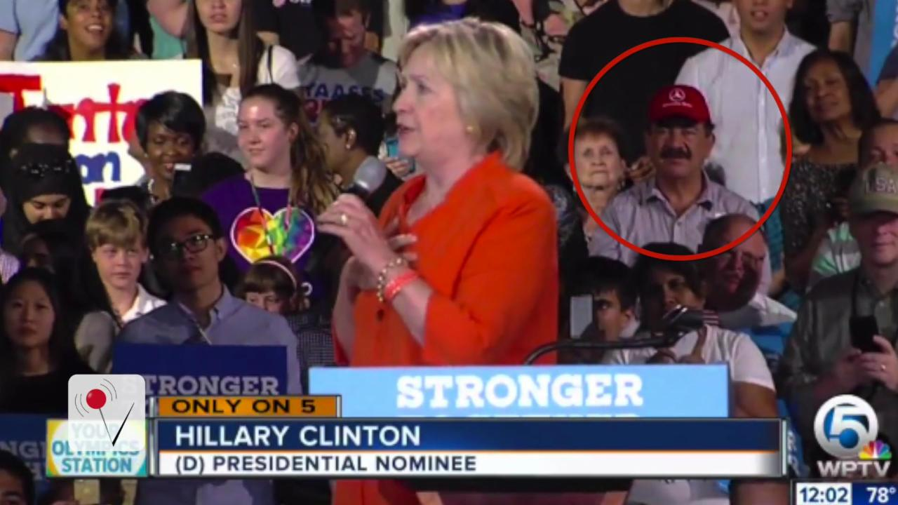 Father of Orlando Nightclub Shooter Attends Hillary Clinton Rally