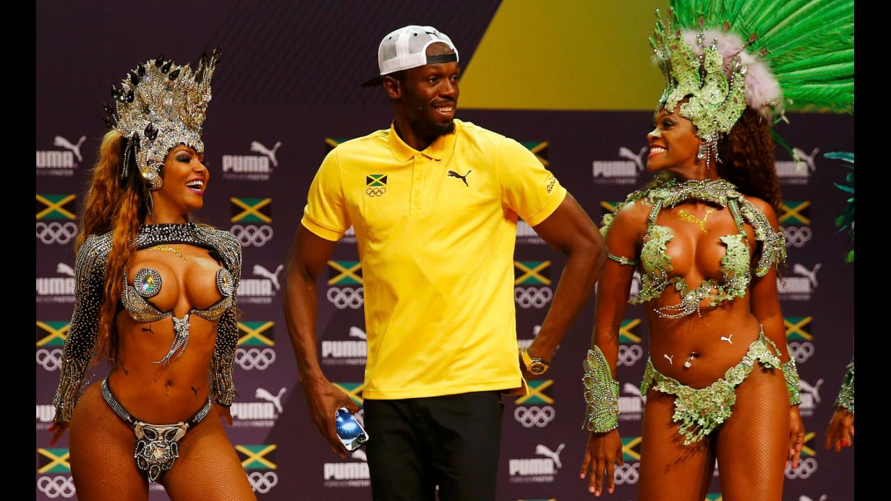 Watch: Usain Bolt dances the samba in Rio