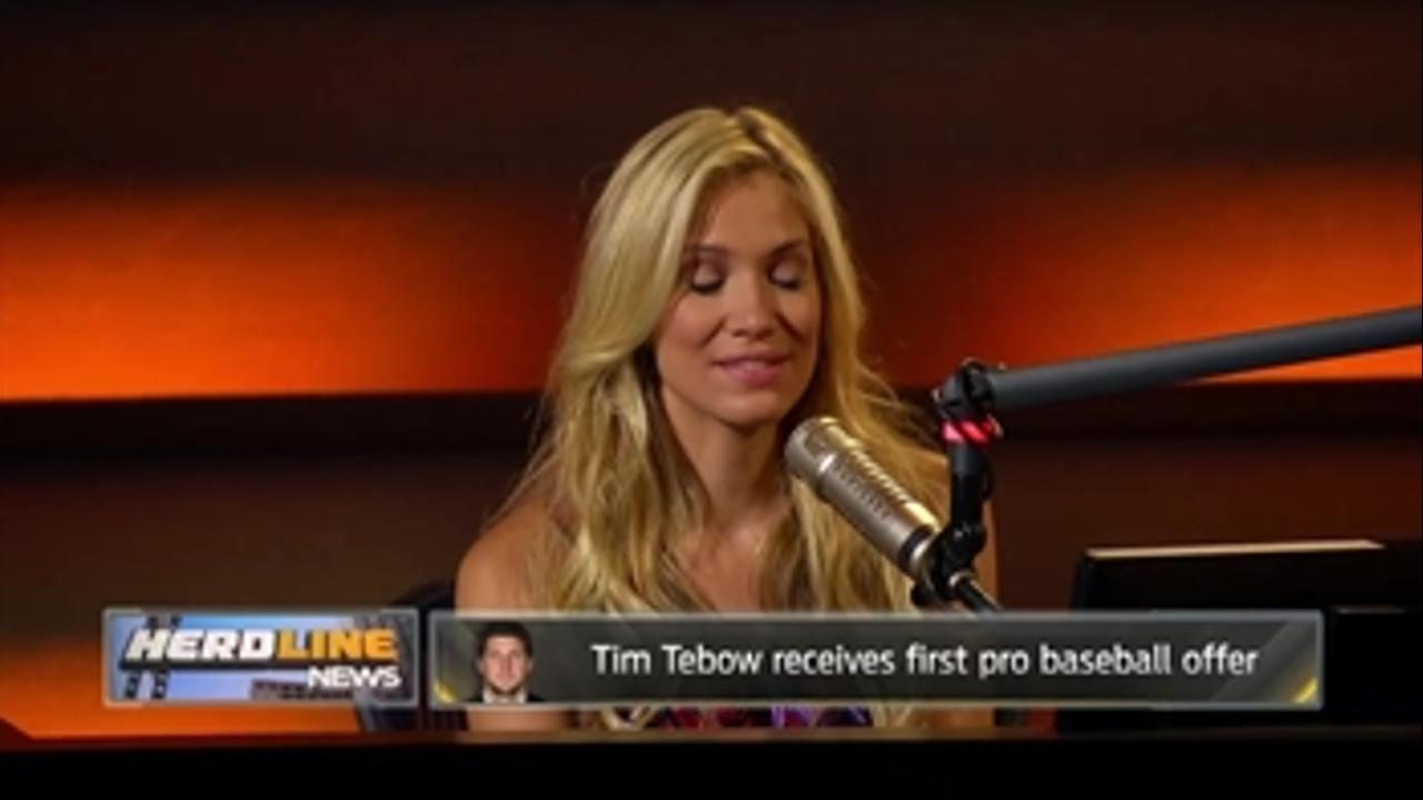 Gary Sheffield has faith that Tim Tebow has the ability to play pro baseball - 'The Herd'