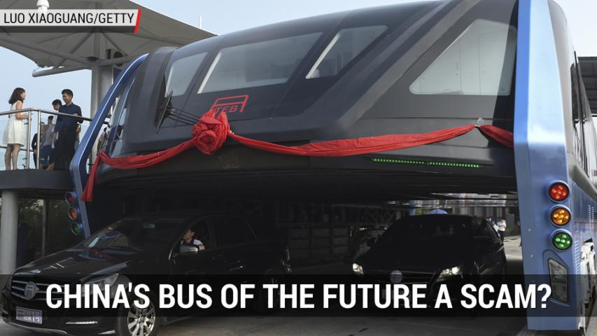 Is China's Bus of the Future a Scam? | Autoblog Minute
