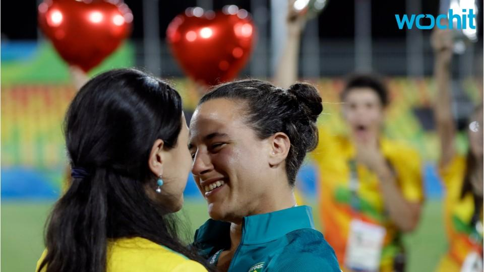 Rio 2016's First Olympic Marriage Proposal!