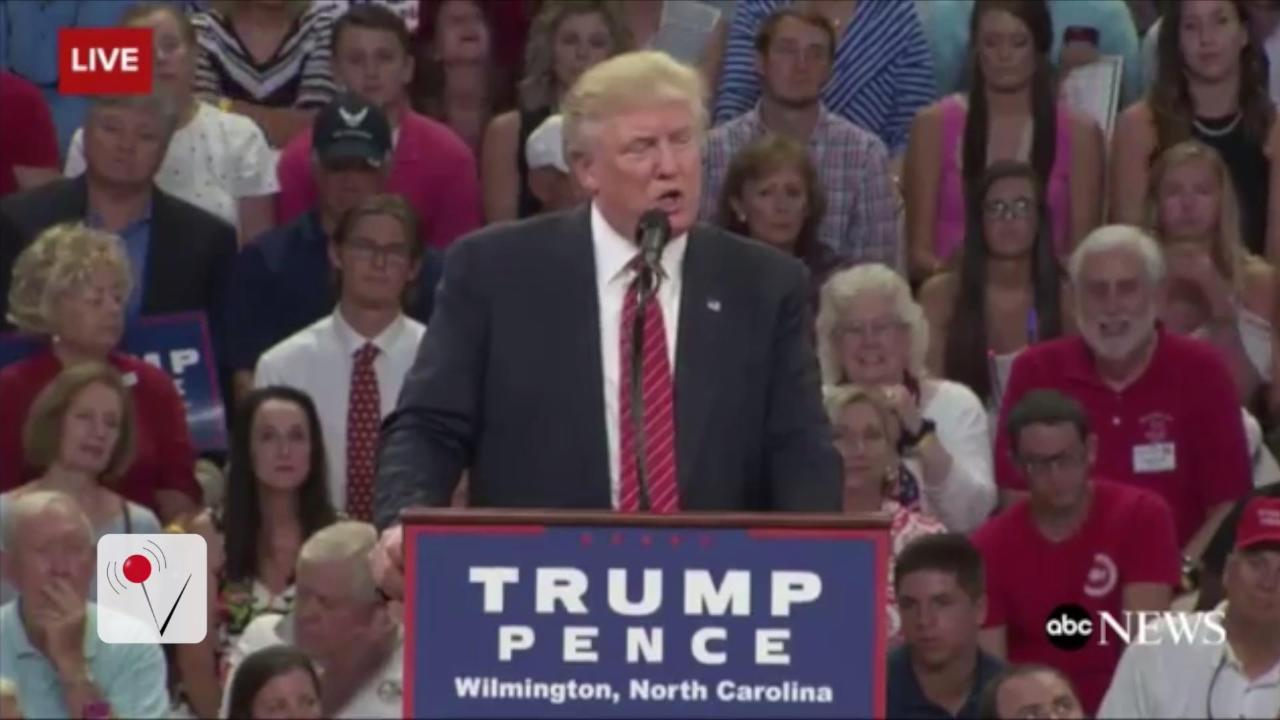 Trump Jokes That '2nd Amendment People' Can Stop Clinton
