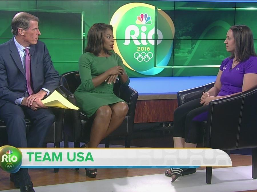 Former Olympic gymnast talks about her new role