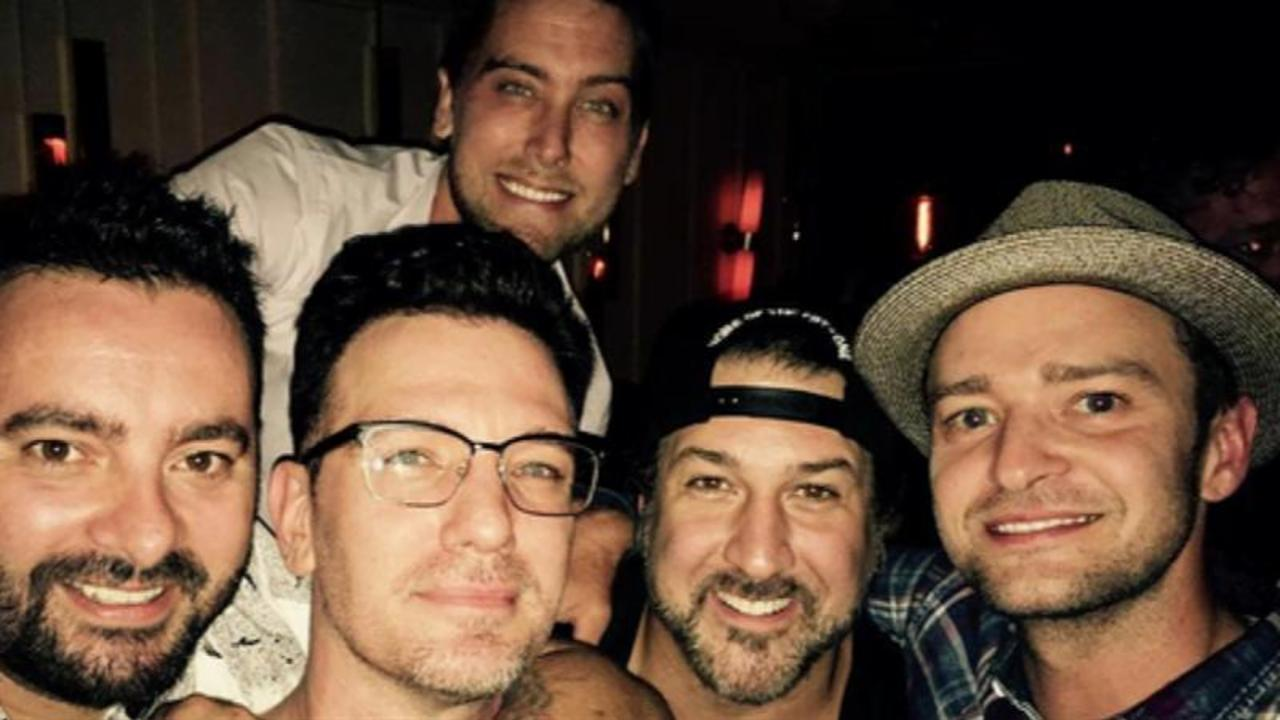 'N Sync Reunion Is Giving Us All the Feels