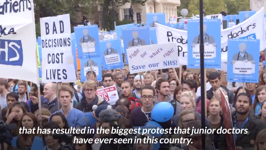 #Powershift - NHS & Junior Doctor Strike - Bonus Clip