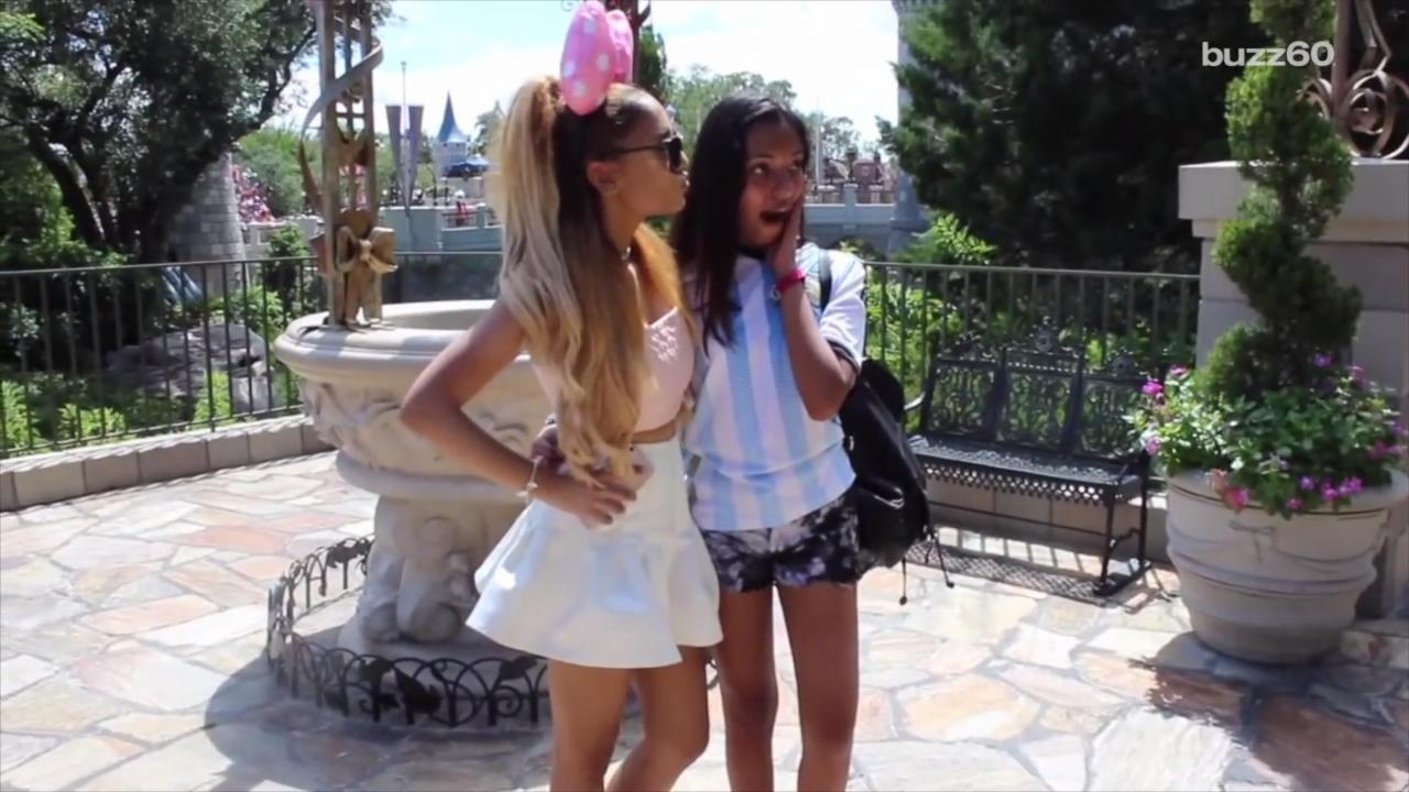 Disney World Meets Ariana Grande's 'Twin'