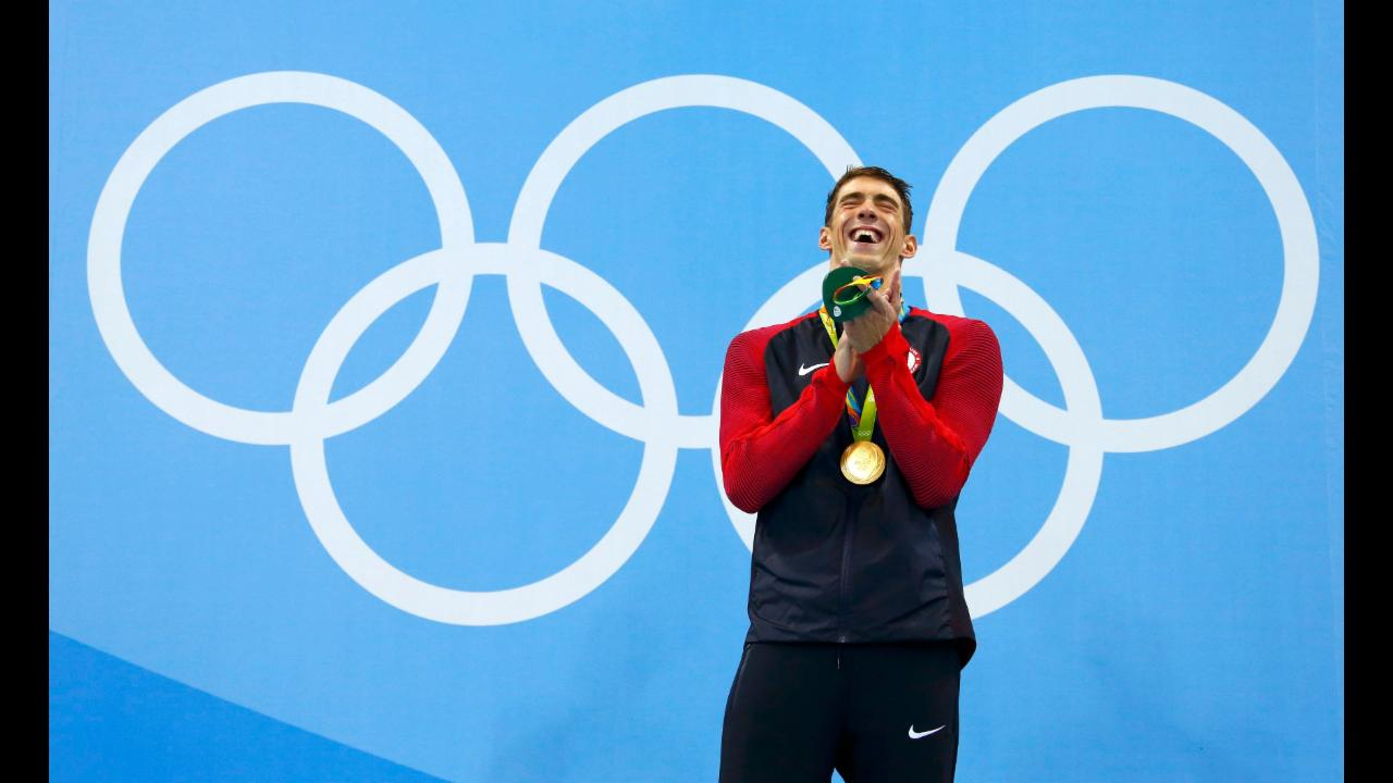 Rio 2016: 21 Olympic​ gold medals for Michael Phelps!
