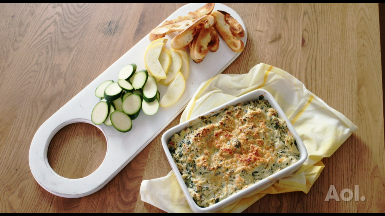 BEST BITES S1:E10 | SPINACH, ARTICHOKE AND CRAB DIP