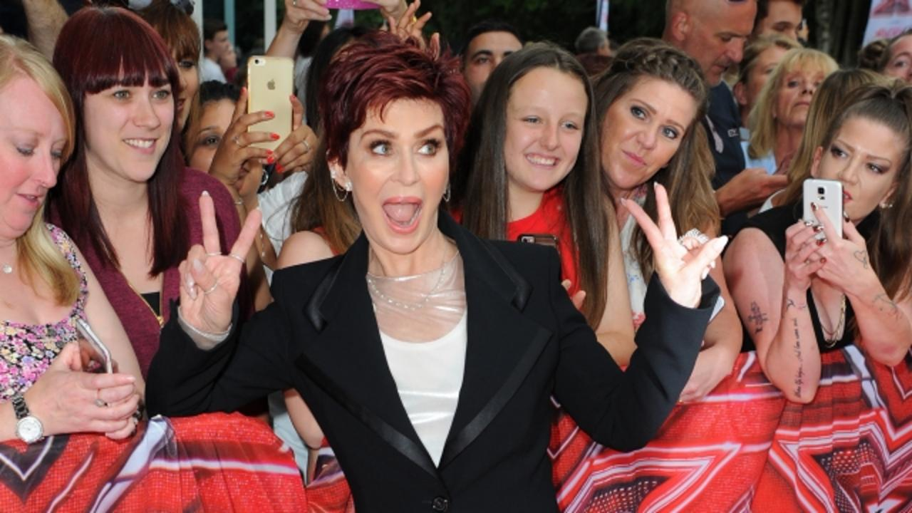 Sharon Osbourne Jokes About Her 'Third Face' on 'The Talk'