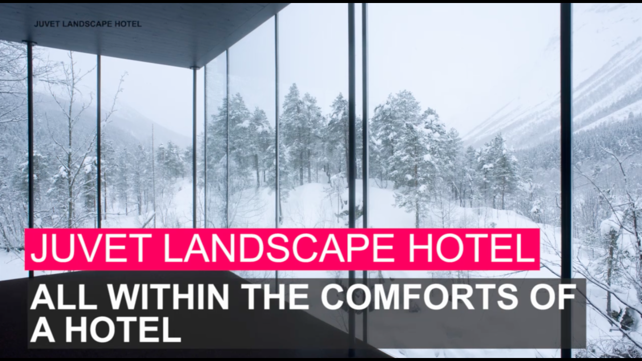 10 of the coolest hotels you can visit
