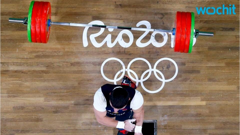 Terrible Injury At Olympics Weightlifting