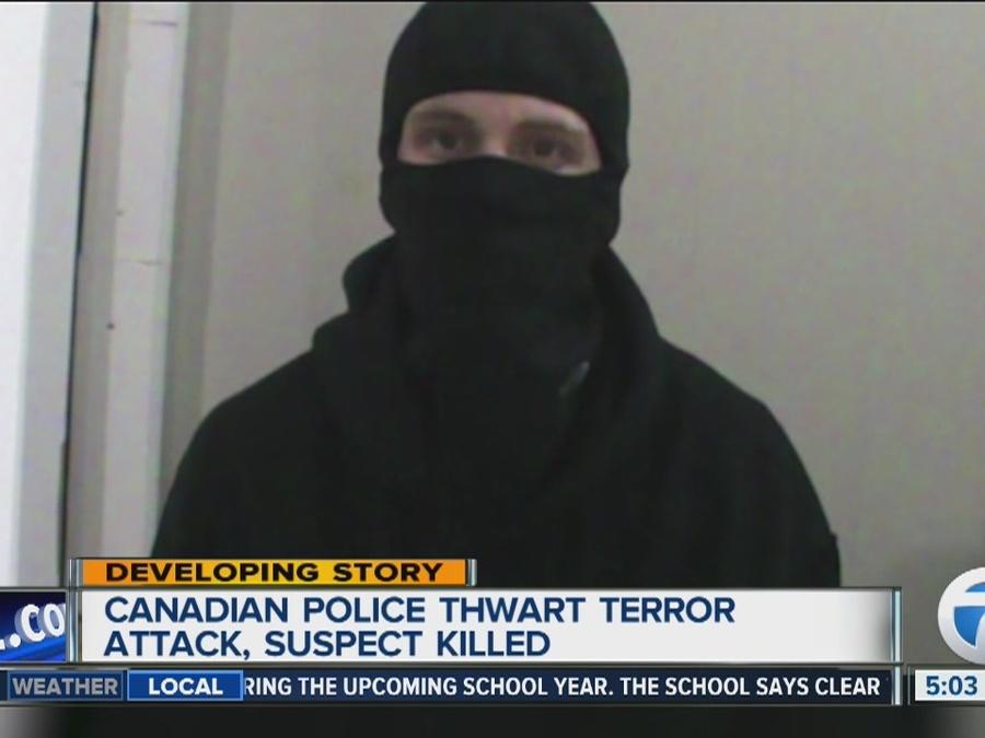 Canadian police thwart terror attack, suspect killed