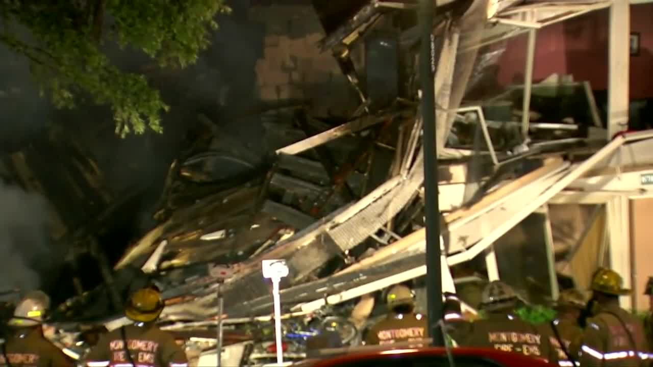 Two dozen injured in Maryland explosion, fire
