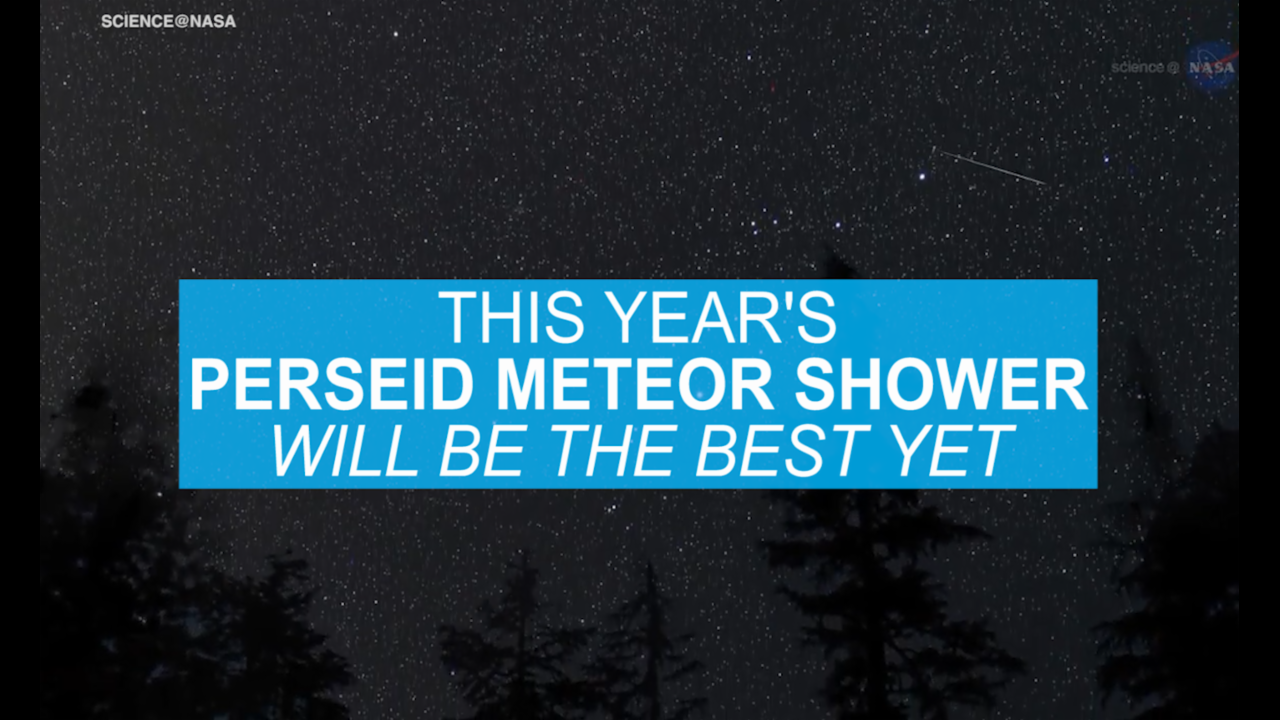 This year's Perseid Meteor Shower will be the best yet