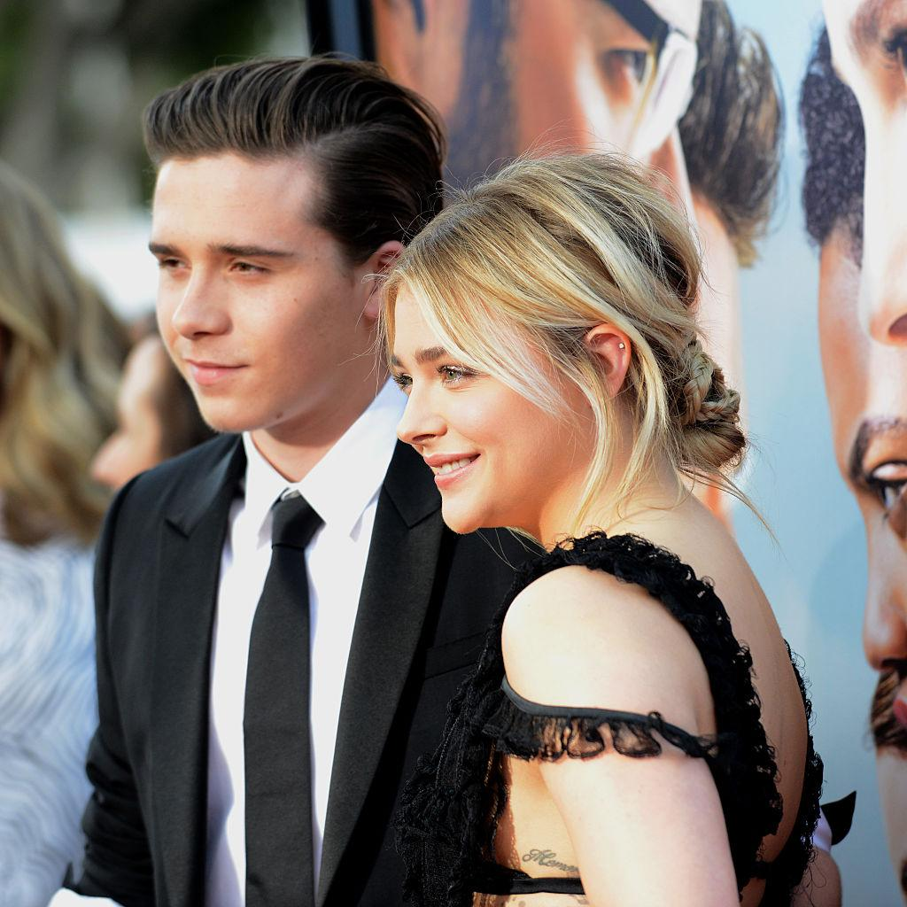 Chloe Grace Moretz shares topless pic from 'beach day' with Brooklyn Beckham