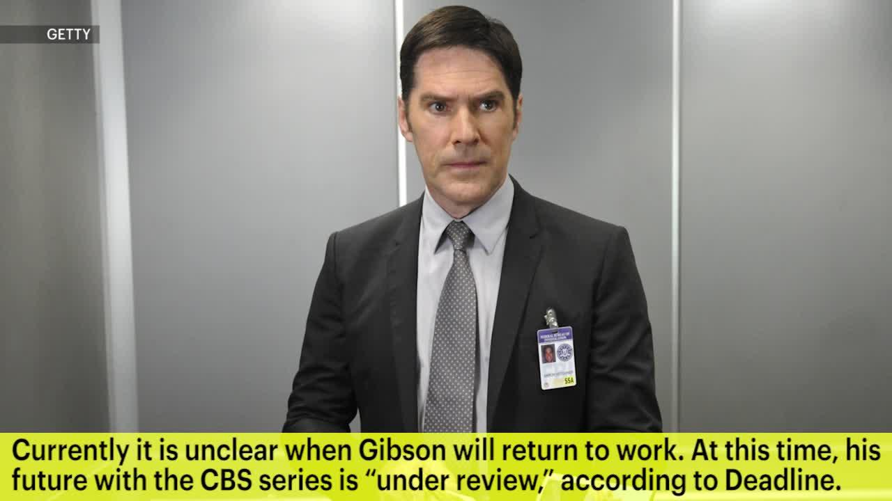 Thomas Gibson Suspended from Criminal Minds After Kicking Producer