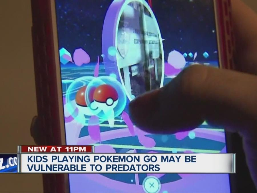 Hidden dangers our Pokemon Go